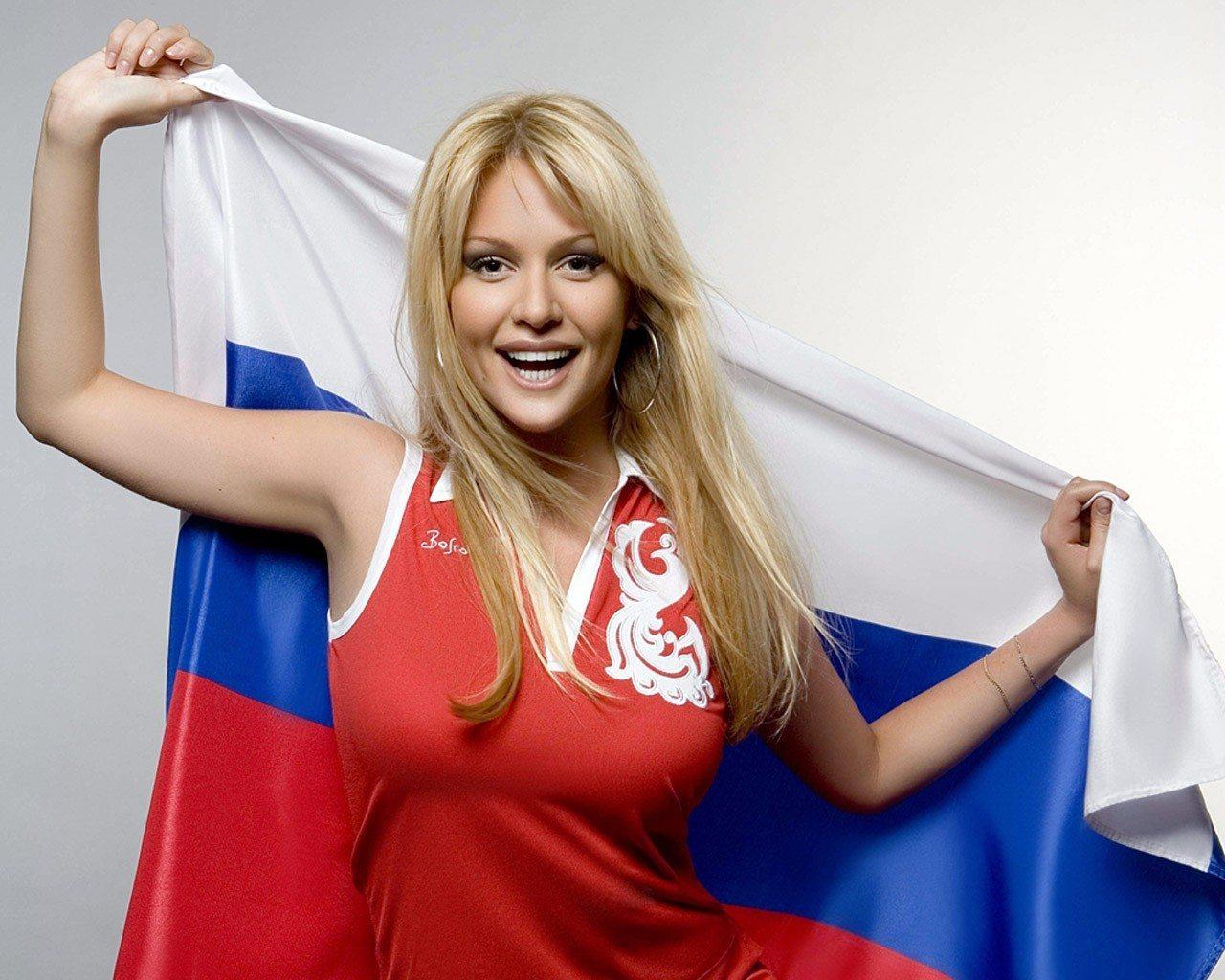 Фото с надписью россияночка